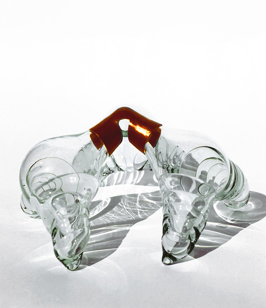Hudle, 1978<br /> Hand Blown Glass and Copper