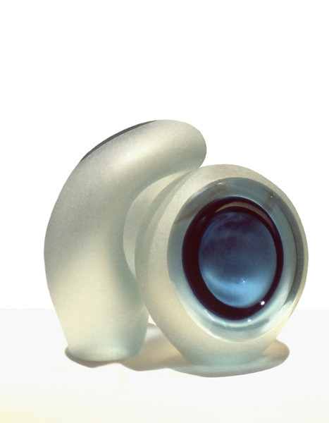 Couple, 1978<br /> Sand Blasted Hand Blown Glass