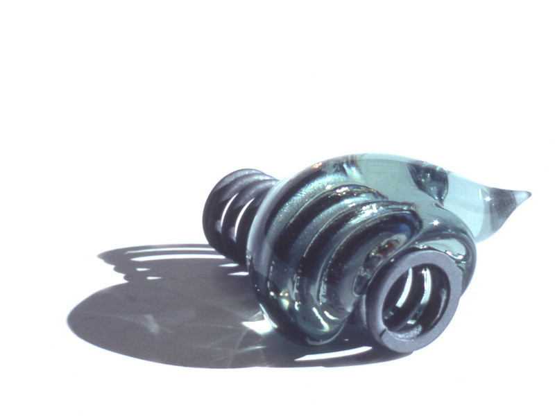 Snail, 1980 <br /> Metal Spring and Glass