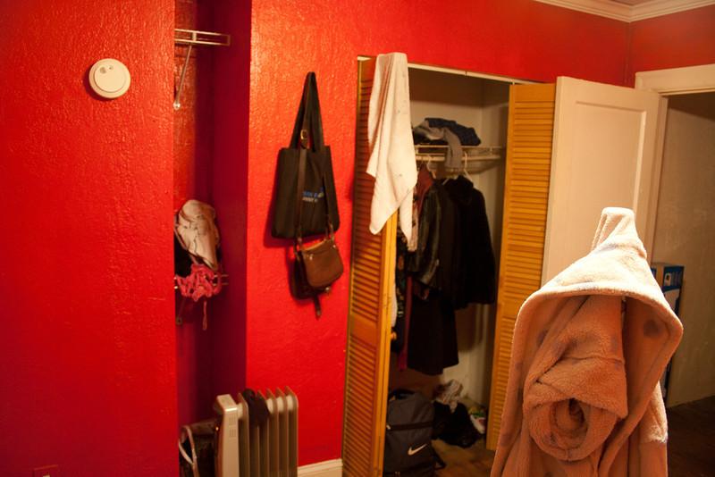 Roommate's room