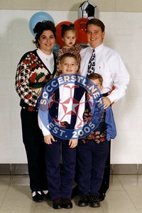 Jeff Rogers With Family circa 199x