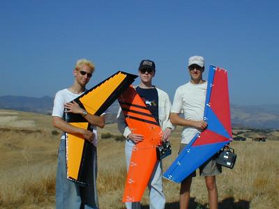 Three Boomerangs: Rus, Nathan, and Shane