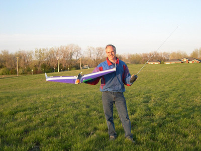 Dad and Glider