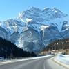 Close to the Banff city
