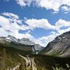 Roads near Banff and Lake Louise