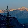 Morning sun in Banff