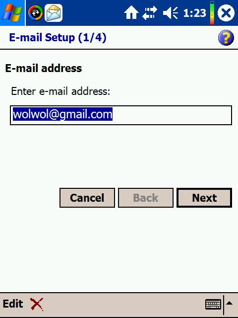 masukin email account anda di sini