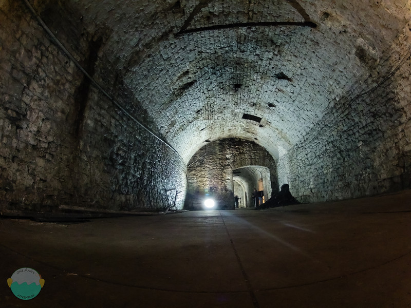 Lagering Tunnel<br /> Imagine all the beer that use to be stored here in the former Jackson Brewery.
