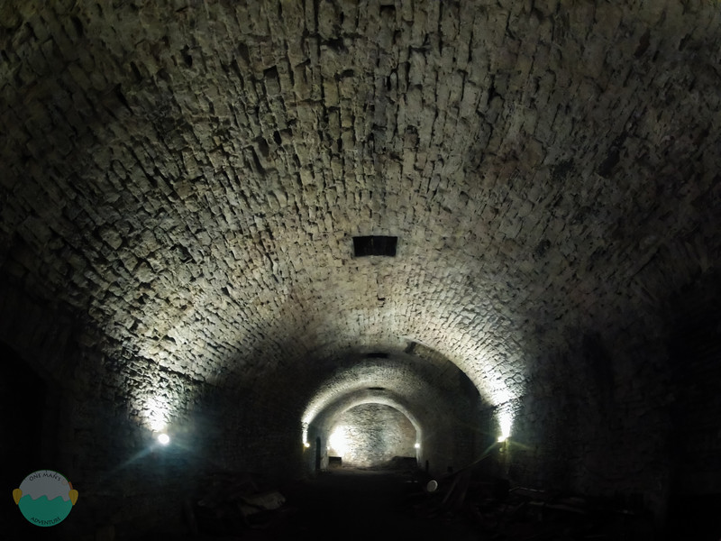 Gerke Lagering Tunnel<br /> Stories below the street in the constant cooler temp.