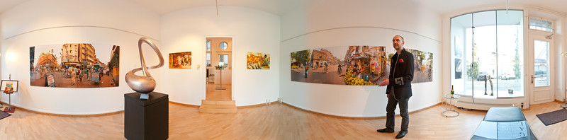 My exhibition at gallery KunstWerkRaum, Baden, Switzerland