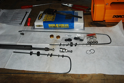 gold valve install VTX 1800 C 2002