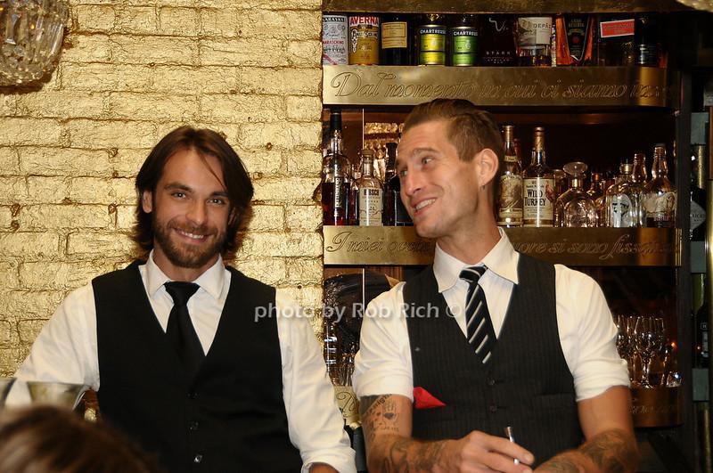bartenders<br /> photo by Rob Rich © 2009 robwayne1@aol.com 516-676-3939