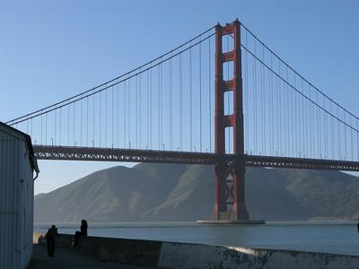 Golden Gate Bridge & Crissy Field, San Francisco, March 2008