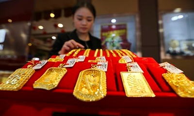 Gold reserves to surpass 4,000 tons