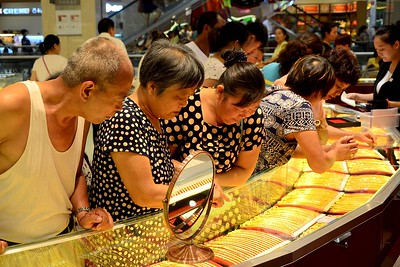 China goes for gold as central bank expands reserves
