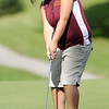 Alexandria's Sidney Bassett putts on the third green.