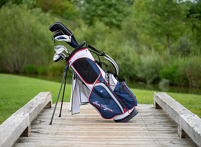 Ben Hogan Golf Bag and Clubs