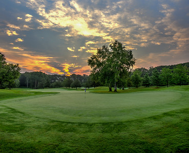 Sunrise on the 6th Green | Loggers Trail Golf Course | Stillwater, MN