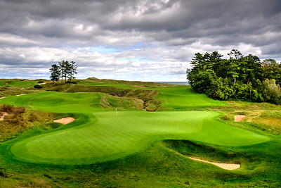 18th Green at Whistling Straits