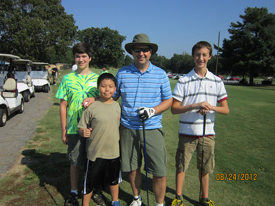Golfing August 2012