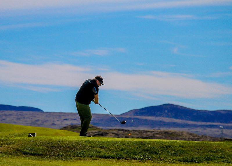 Kálfatjarnavöllur sumarið 2017 / Mynd/ seth@golf.is
