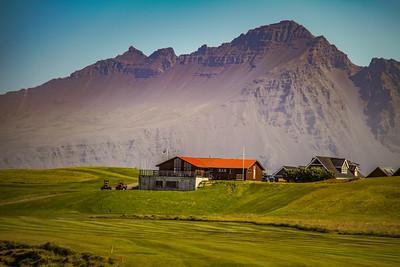 Silfurnesvöllur - Höfn í Hornafirði.