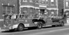 Ladder Co. 23's 1976 Seagrave 100 foot aerial ladder...