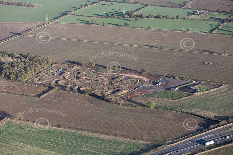 Aerial photo of Moto X track-1