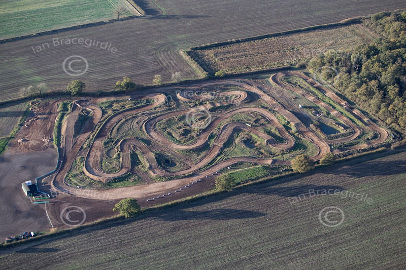 Aerial photo of Moto X track-9