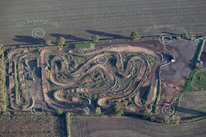 Aerial photo of Moto X track-14