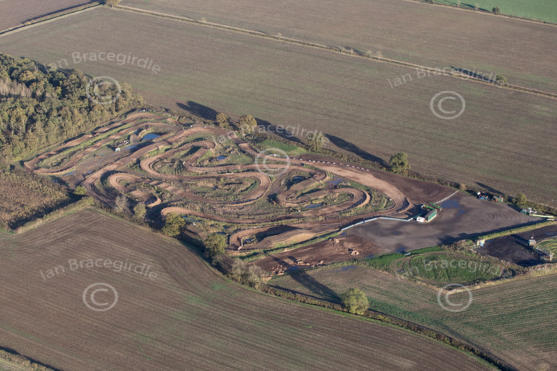 Aerial photo of Moto X track-3