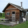Rustic accommodations by Lake Laclu near Kenora, Ontario, Canada