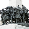 National War Memorial - Ottawa, Ontario , Canada<br /> Its bronze figures emerge from a great arch, symbolizing the sacrifices made in the journey from war to peace.