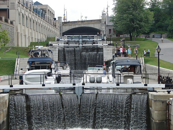 Rideau Canal, Ottawa, Ontario, Canada