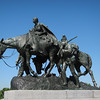 The Pioneer Mother Memorial Statue<br /> Penn Valley Park - Kansas City Missouri