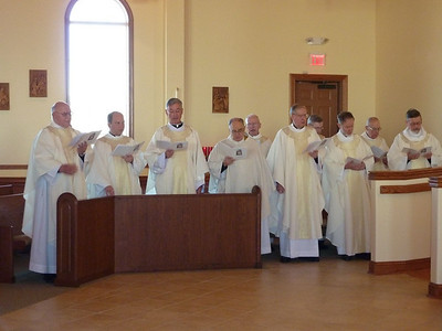Concelebrants included Fr. Tom Cassidy, provincial superior of the U.S. Province and the SCJs who minister with Sacred Heart Southern Missions.