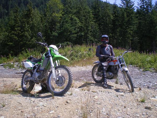 Kwisn and I at Walker Valley.