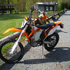 First ride for Ken's new 500EXC