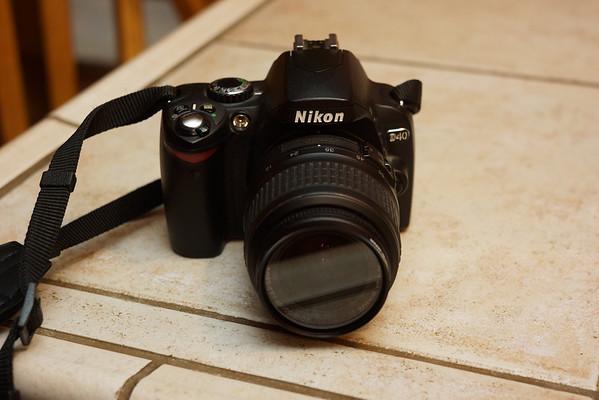 Goodbye Nikon D40