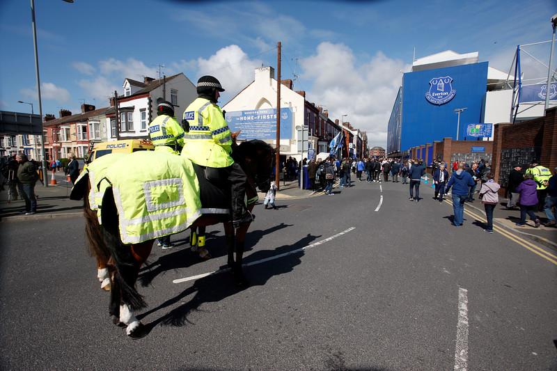 2017 Premier league football Everton v Burnley Apr 15th