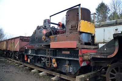 Unidentified Steam Crane   16/01/15.