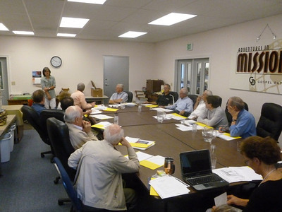 The board meeting in the Fall of 2012