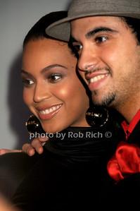 Beyonce Knowles,DJ Cassidy photo by Rob Rich © 2008 robwayne1@aol.com 516-676-3939
