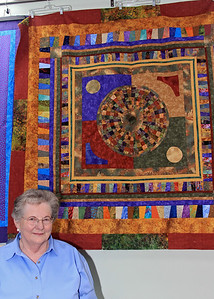 Janet McCasland and Her Quilt