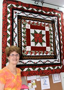 Ruth Chamberlin and Her Quilt