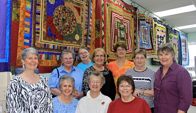 The Gottabees and Their Round Robin Quilts
