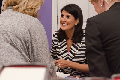 Gov. Haley Booksigning