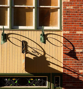 Lamp Shadows: Crested Butte, CO
