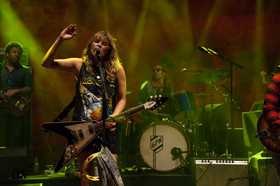 Grace Potter and the Nocturnals perform at Red Rocks Amphitheatre on Sept. 20, 2014. Photos by Glenn Ross, heyreverb.com.