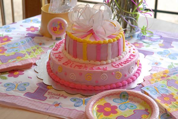 Gracen's First Birthday